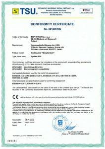 cert SleepSystem 2012990106